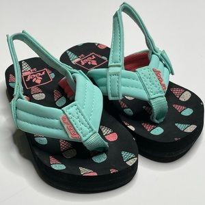 New Reef Little Ahi Ice Cream Flip Flop Sandal